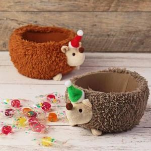 【カルディ】もこもこハリネズミの小物入れ可愛すぎ!2匹お持ち帰りしたい。