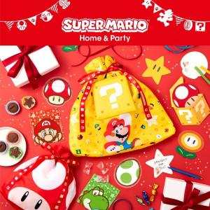 マリオとキノコのエコバッグ、2通り使えて畳んでもかわいい!