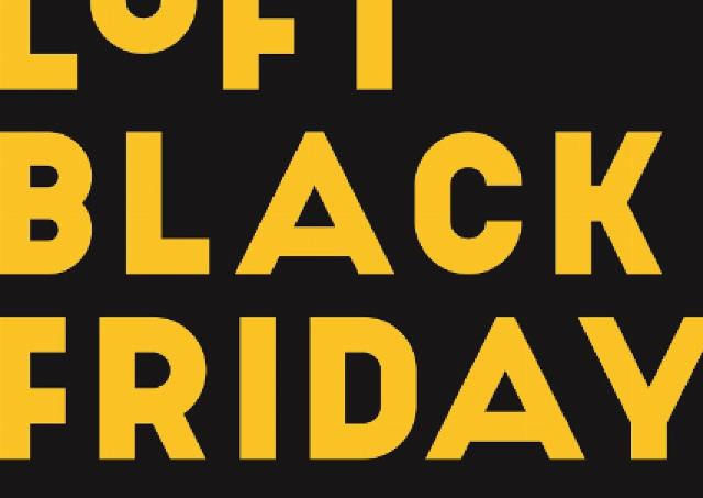 【ブラックフライデー】ロフトが最大50%オフの値下げ!お得な企画満載だよ~。
