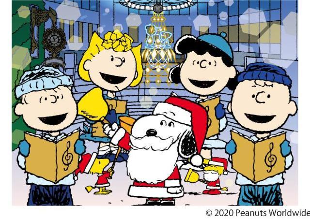 限定グッズが目白押し。クリスマス気分が盛り上がる「うめだスヌーピーフェスティバル2020」
