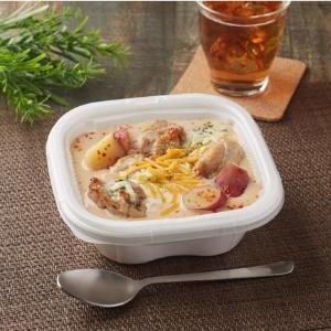 【ファミマ】人気「シュクメルリ」がお弁当に!にんにく香るクリームソースがたまらん。