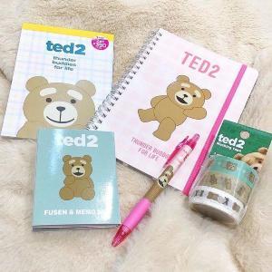 【全部390円】爆買い必至。tedの文房具、可愛みがあふれてる!