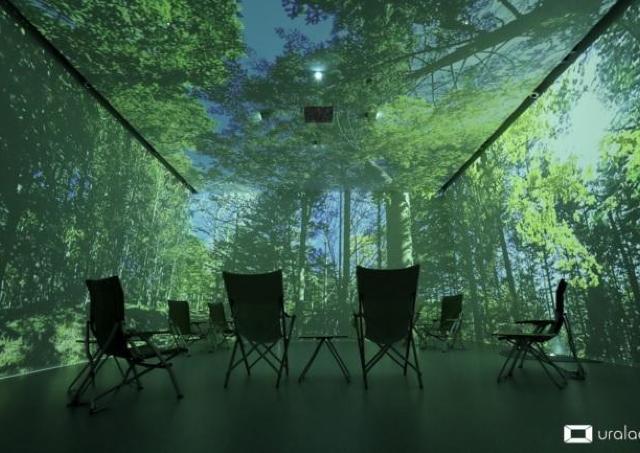 料金無料。ヴァーチャル森林浴でリラックスタイムを