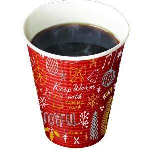 【ファミマ】デザインカップがホリデー感満載で可愛い~!心も体もほっこり。