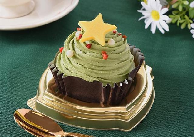 【ファミマ】クリスマスツリーみたい!激カワスイーツでホリデー気分盛り上げよう。
