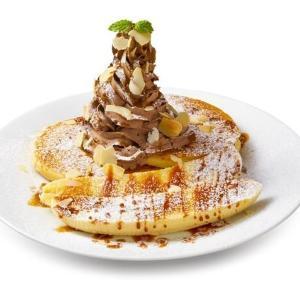 イケアの時間限定「パンケーキ」が気になる!クリームたっぷり&バナナ1本丸ごと使用