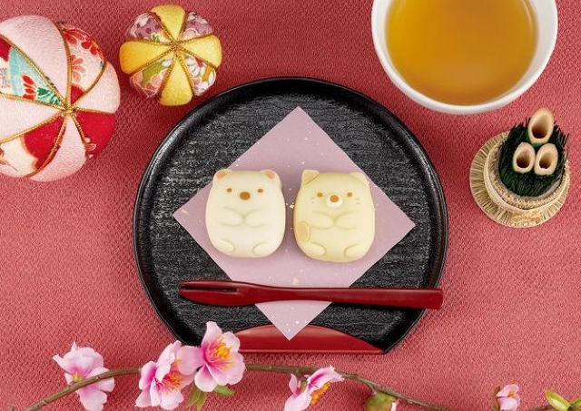 「すみっコぐらし」の激カワ和菓子、イオンに現る。