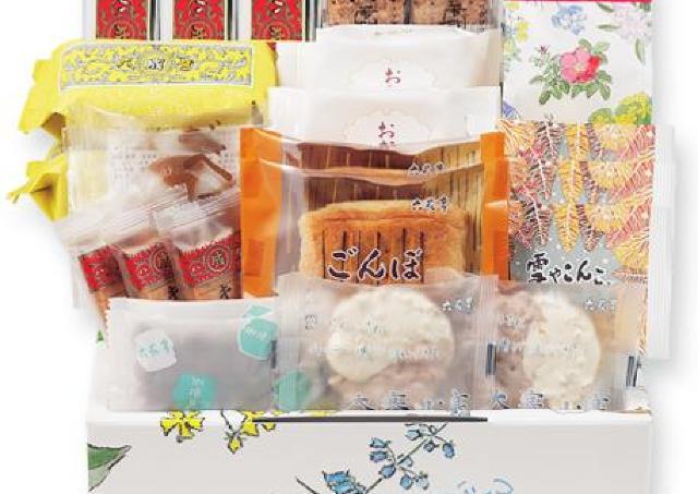 六花亭の「おやつセット」1月も充実の内容!送料は無料だよ。