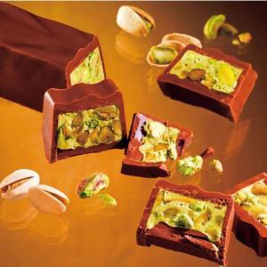 ピスタチオたっぷり!ロイズのバレンタインチョコがめちゃ美味しそう。