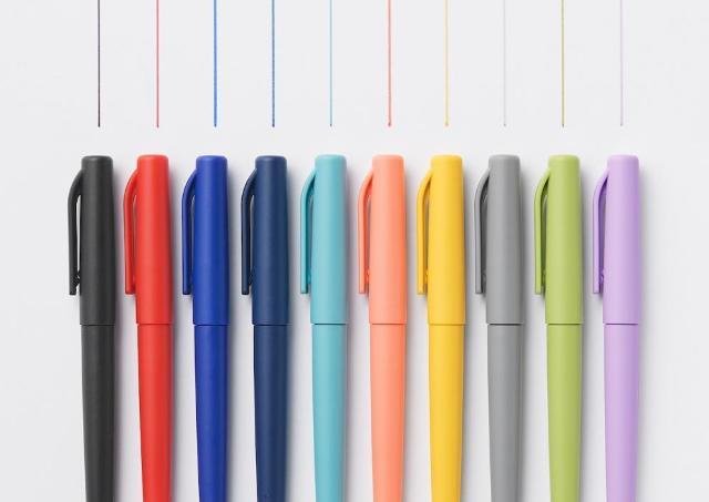 【無印良品】色も名前もエモい。センスあふれる「水性サインペン」全色集めたくなる。