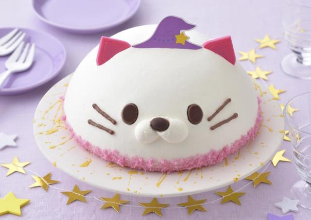 「ネコの魔法つかい」ケーキ可愛すぎでは?コージーコーナー行かなきゃ。