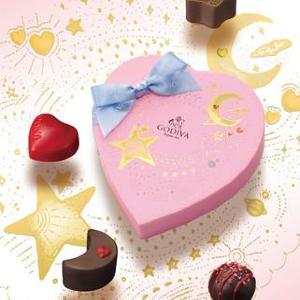 乙女チックで可愛い~!ゴディバのバレンタインはチョコもパケも最&高。
