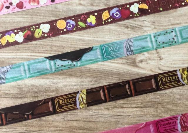 バレンタイン気分アゲアゲ!キャンドゥで「チョコマステ」見つけたよ。