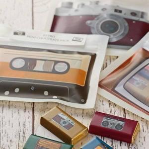 カメラ、カセットテープ...カルディの「レトロチョコ」お手頃で可愛いよ~。