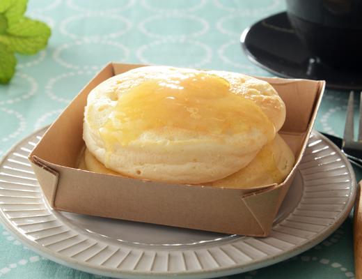 【ローソン】めちゃうま!リコッタパンケーキがふわふわ&ひたひたで最高。