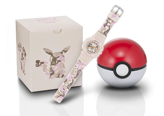時計の針がピカチュウ?「BABY-G」のコラボウォッチ可愛すぎないか?