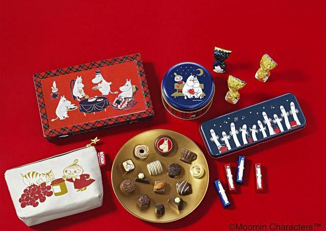 【ムーミン】激カワ缶!!メリーチョコ、今年はタータンチェックだよ~。