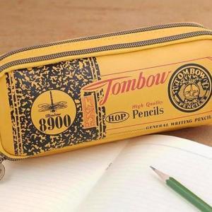 トンボ鉛筆のペンケースが可愛みあふれてて推せる。2ルームで収納力も抜群!