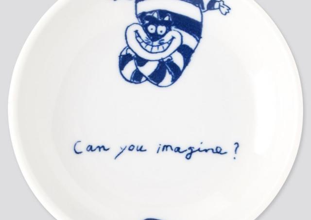 アリスとチェシャ猫の豆皿が激カワ!ユニクロUT×ふしぎの国のアリスは見逃せない。