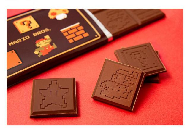 マリオの板チョコトレーがめちゃカワ!簡単手作りバレンタイン楽しも~。