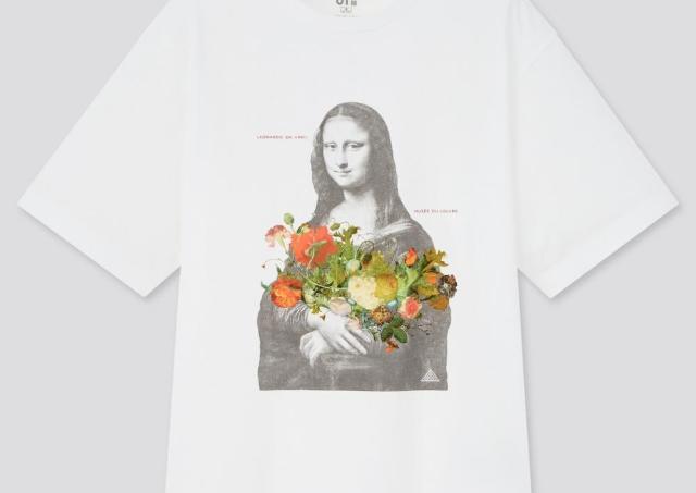 ユニクロUT×ルーヴル美術館がコラボ!モナ・リザTシャツ素敵。