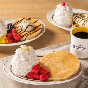 Eggs'n Thingsに初の「おひとり様セット」!ホイップ盛り盛りパンケーキ独り占め。