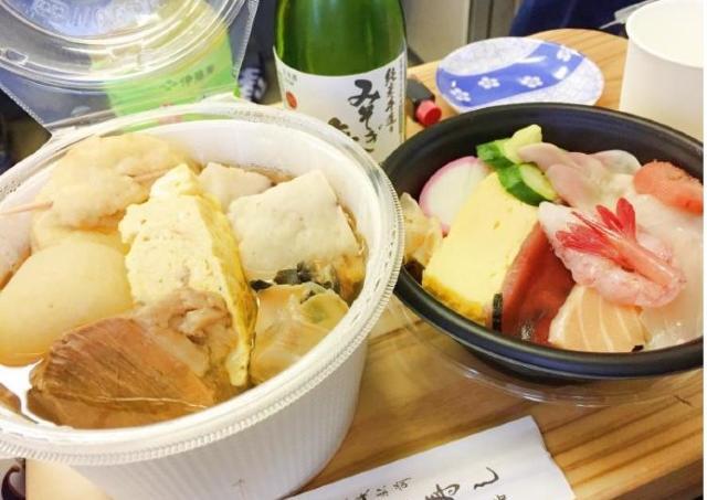 地元の食材をふんだんに使ったおでんを味わい尽くす列車の旅
