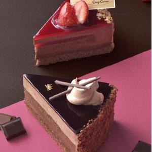 【パラダイス】コージーコーナーに魅惑的なチョコケーキがズラリ!全部食べたいから困る。