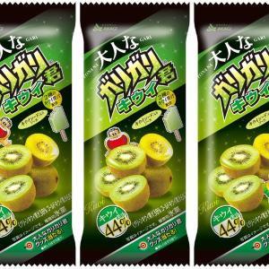 「ガリガリ君」Wのキウイ、果汁44%!美味しくないわけがない。