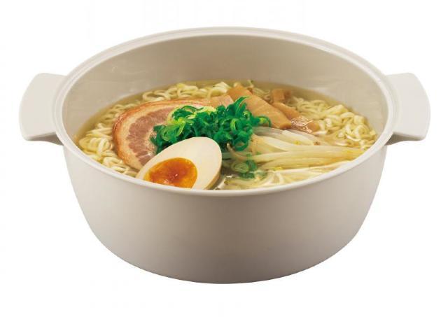 【スリコ】可愛くて優秀!330円のレンチン調理グッズでラーメンも鍋も作れる。