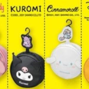 【しまむら】500円なの!?サンリオ、ディズニーの丸型ポーチが可愛い~。
