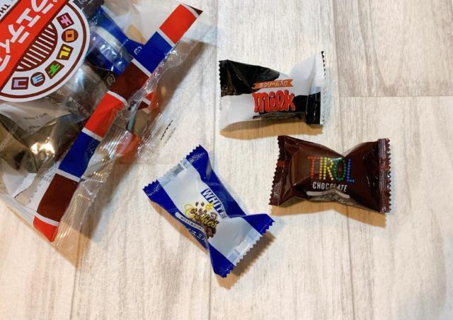 チロルチョコの「ひと口アイス」が美味しい!セブン限定だよ~。