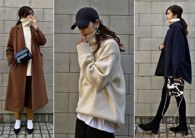 【GU】小顔効果バツグン!人気メンズセーターを使った着回し3コーデ