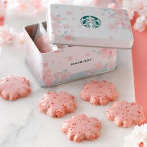 【スタバ】さくらデザインのクッキー缶がゆめかわ!リユースもできて最高。