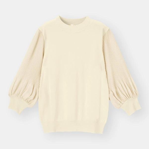 【GU】「華奢見え」「透け感が上品」な春セーター。骨スト民はマストバイでは?
