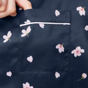 【GU】桜デザインのサテンパジャマ登場!3色どれも可愛い~。