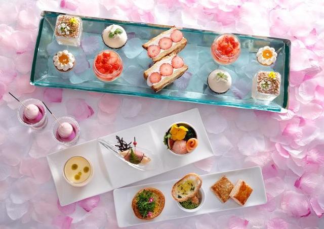 「春の食材」と「7つの味感」を満喫できるアフタヌーンティー
