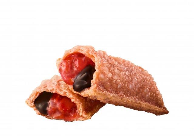 チョコ×いちごはずるい!マックの新作フルーツパイがめちゃうまの予感。