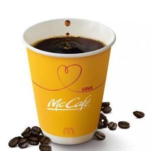 マックのコーヒーMサイズが100円!14日の間にたくさん飲も~。
