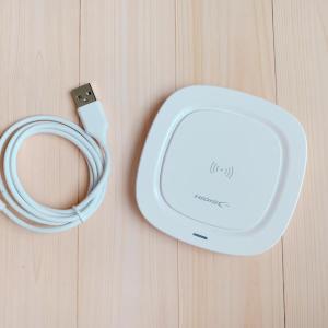 キャンドゥにワイヤレス充電器が!プチプラでめちゃ便利、最高すぎるよ~。