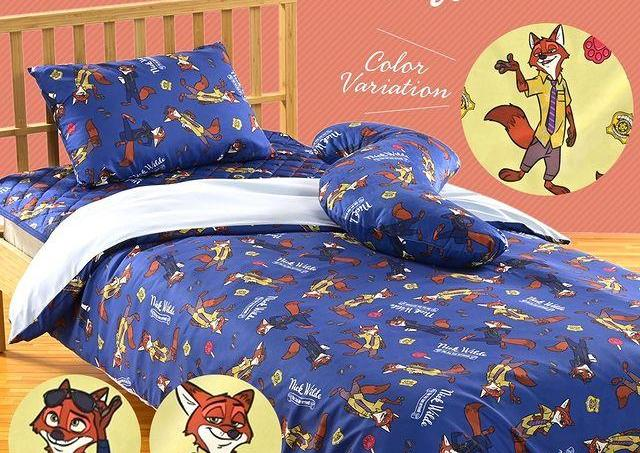 ニックがいっぱい!「ズートピア」の寝具が一式そろえたい可愛さ。
