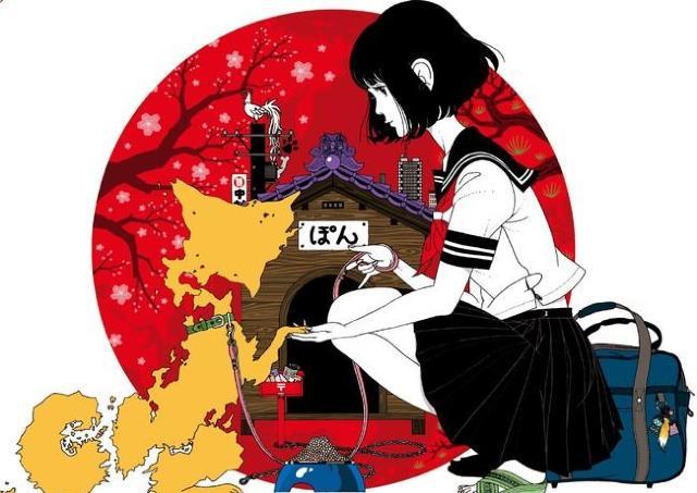 人気イラストレーター・中村佑介のほぼ全作品を網羅