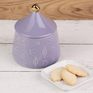 【カルディ】陶器キャニスターがめっちゃ可愛い!リーフクッキー買うしかない。