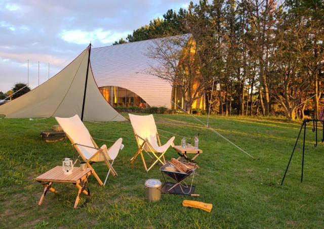 1日3組限定!ホテルとキャンプの良いとこどりプラン