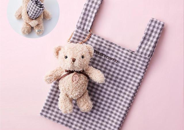 【タリーズ】ベアフル新商品が激カワ!ギンガムチェックのバッグとセットだよ。