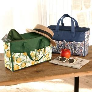 【ダイソー】「これは見つけた瞬間即買いした」レモン柄のピクニックバッグが可愛い~。