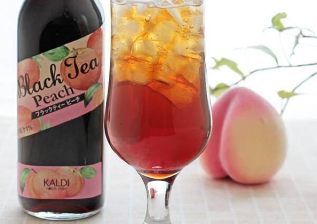 【カルディ】見つけたら即カゴへ!人気の「濃縮紅茶」にピーチ味が登場してるよ~。
