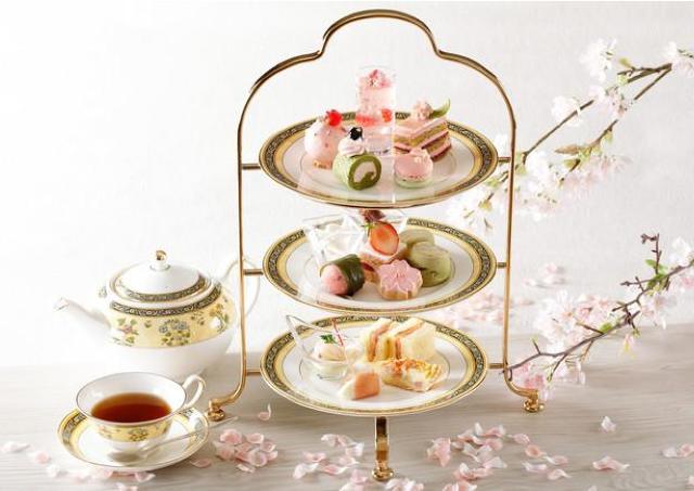 春爛漫!ウェスティン都ホテル京都に華やかな桜スイーツ勢ぞろい