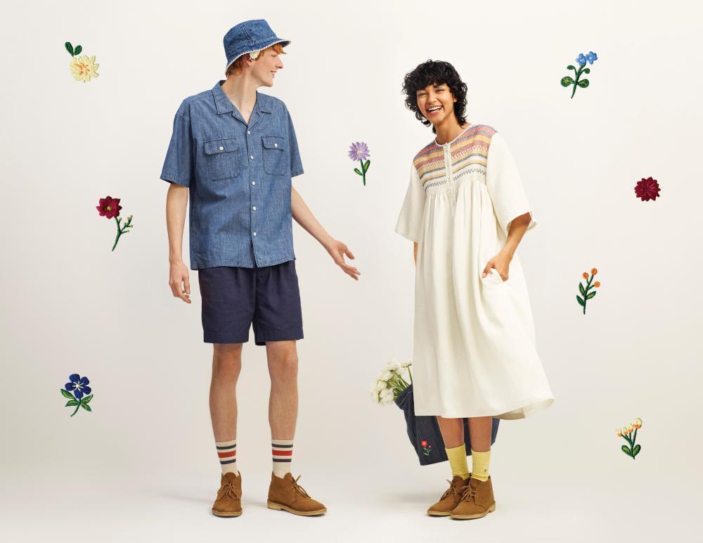 【ユニクロ×JWアンダーソン】春夏コレクション登場!小花刺しゅうや色味が大人可愛い。