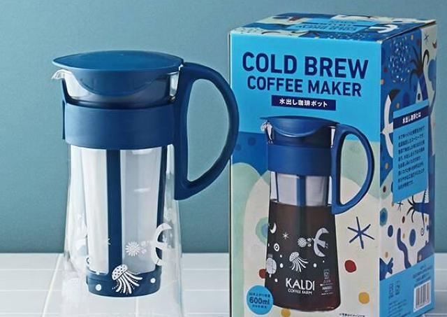 【カルディ】人気の水出し珈琲ポットとボトルが今年も登場!コーヒータイムが捗りそう。
